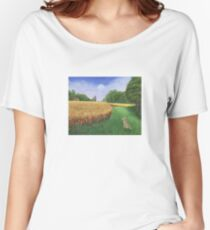 Hare's Path to the Moon Women's Relaxed Fit T-Shirt