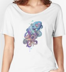 octopus  Women's Relaxed Fit T-Shirt