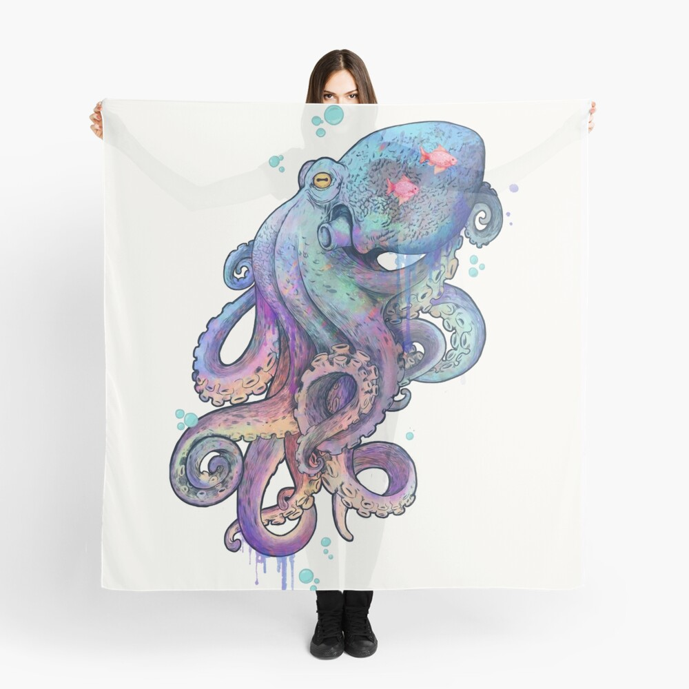 octopus  Scarf