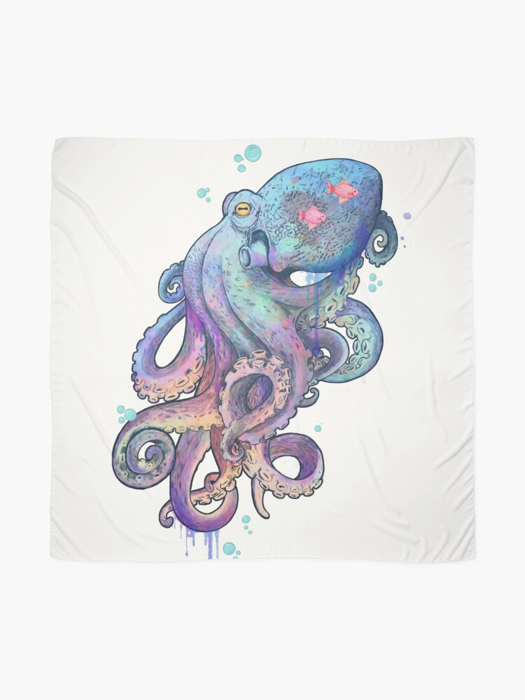 Alternate view of octopus  Scarf
