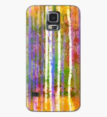 Colorful Forest Abstract | Triptych Part 3 Case/Skin for Samsung Galaxy
