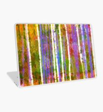 Colorful Forest Abstract | Triptych Part 3 Laptop Skin