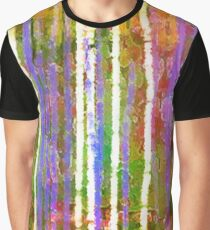 Colorful Forest Abstract | Triptych Part 3 Graphic T-Shirt