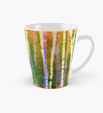 Colorful Forest Abstract | Triptych Part 2 Tall Mug