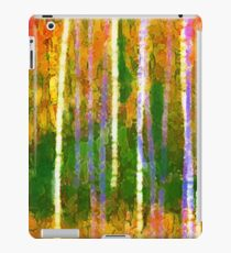 Colorful Forest Abstract | Triptych Part 2 iPad Case/Skin
