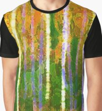 Colorful Forest Abstract | Triptych Part 2 Graphic T-Shirt