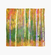 Colorful Forest Abstract | Triptych Part 2 Scarf