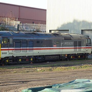 InterCity Class 50, 50031 at Kidderminster by Rorymacve