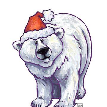 Polar Bear Christmas by ImagineThatNYC