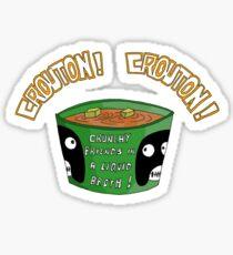 CROUTON...CROUTON!!! Sticker