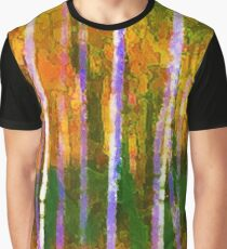 Colorful Forest Abstract | Triptych Part 1 Graphic T-Shirt