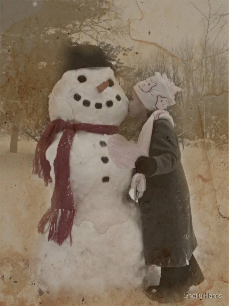 Kissing Frosty by Shelly Harris