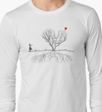 Banksy Heart Tree Long Sleeve T-Shirt