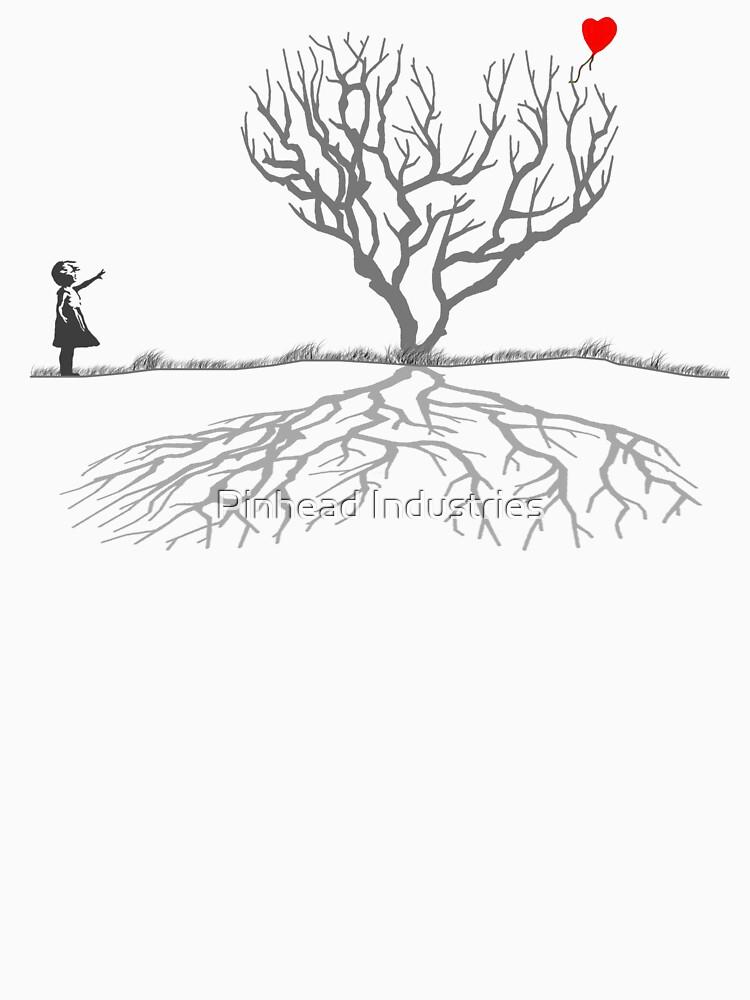 Banksy Heart Tree by SteveWilliams