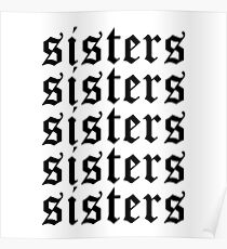 SIsters James Charles Merch Repeat Poster