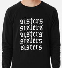 Schwestern James Charles Merch Repeat White Leichter Pullover