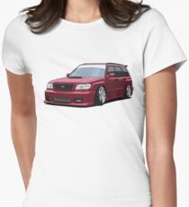 Subaru Forester GT Women's Fitted T-Shirt