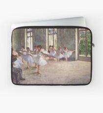 Edgar Degas Französischer Impressionismus-Ölgemälde-Ballerinen, die Tanzen probieren Laptoptasche