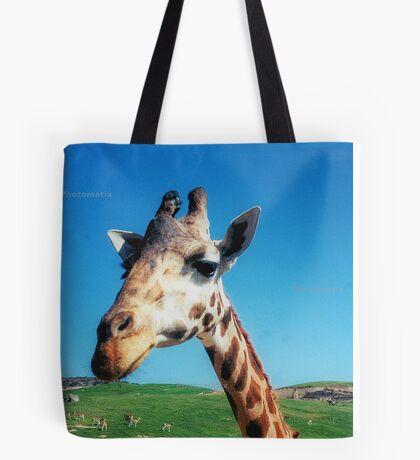 Giraffe HDR Tote Bag