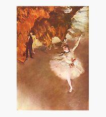 Lámina fotográfica Edgar Degas Impresionismo Francés Pintura Al óleo Bailarinas Ensayando Bailar