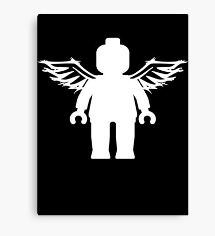 ANGEL MINIFIG Canvas Print