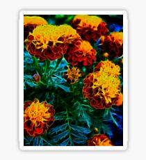 Flowers a glow glow Sticker