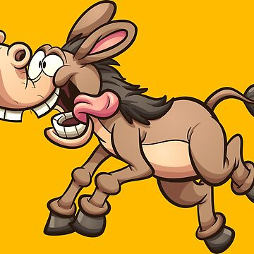 Crazy running mule by memoangeles