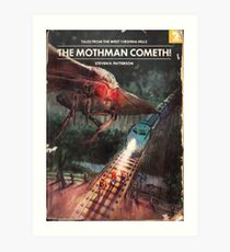 Vault 76 - The Mothman Cometh! Art Print