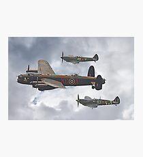 The Battle Of Britain Memorial Flight - Shoreham 2014 Photographic Print