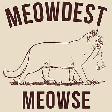 Meowdest by darklordpug