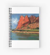 Glen Helen Gorge, Alice Springs Spiral Notebook