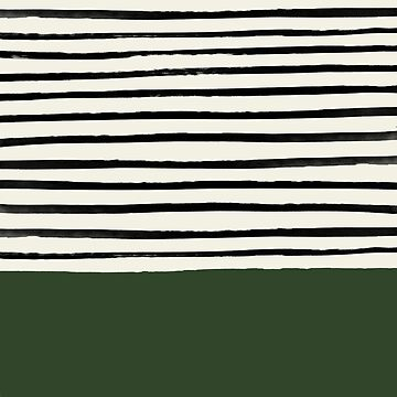 Forest Green x Stripes by adventurlings
