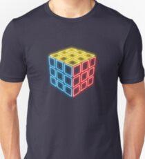 Neon Rubix Remix Unisex T-Shirt