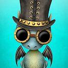 Steampunk-Baby-Drache von jeff bartels