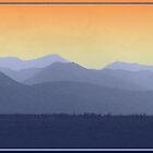 Kananskis Mountain Range by Barrie Daniels