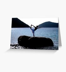 Asana Greeting Card