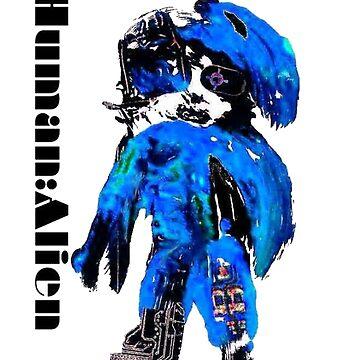 Chynadoll (blue) by humanalien