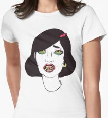 BatPill Womens Fitted T-Shirt