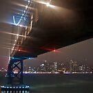 A Misty Night Under the Bay Bridge by MattGranz