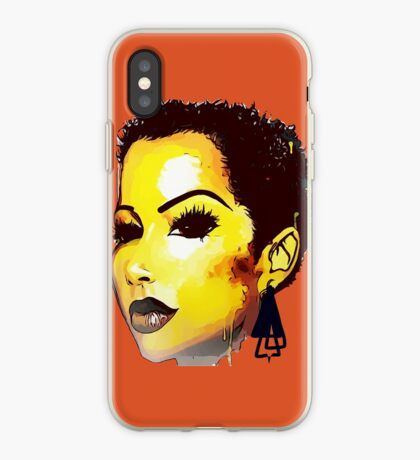 Twa Natural HairStyle Sly Dope Kurzes Afro iPhone-Hülle & Cover