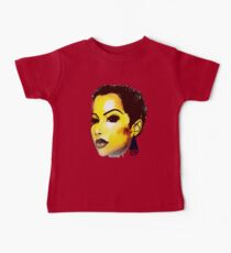 Twa Natural HairStyle Sly Dope Short Afro Baby Tee