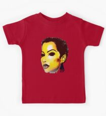 Twa Natural HairStyle Sly Dope Short Afro Kids Tee