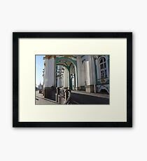 palace main entrance Framed Print