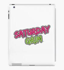 Saturday Grim (logo) iPad Case/Skin