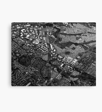 Suburbia Canvas Print