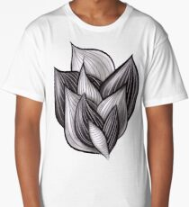 Abstract Dynamic Shapes Long T-Shirt