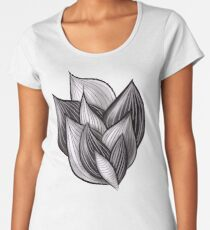 Abstract Dynamic Shapes Women's Premium T-Shirt