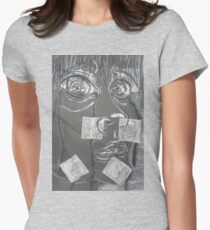Self Portrait  Womens Fitted T-Shirt