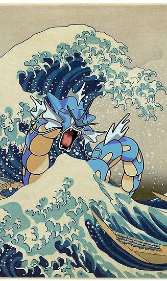 Die große Welle von gyabna