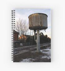 Water tower, Loughborough Spiral Notebook